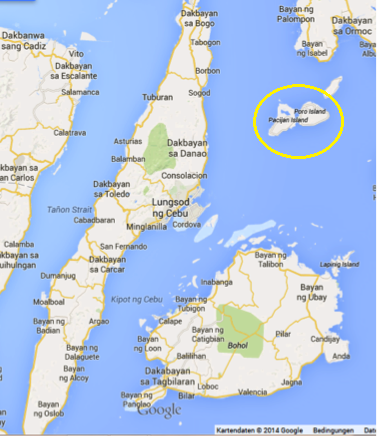 Cebu_Bohol_Camotes by Google